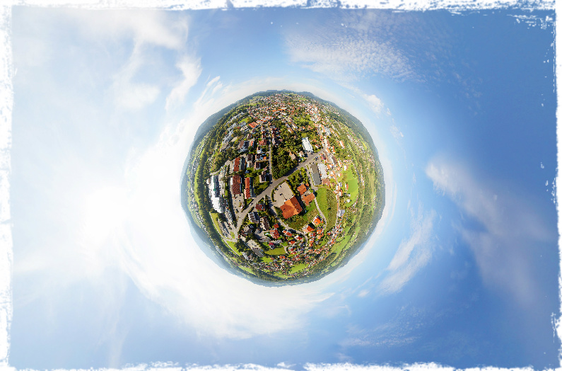 Ein virtueller Rundflug über Viechtach