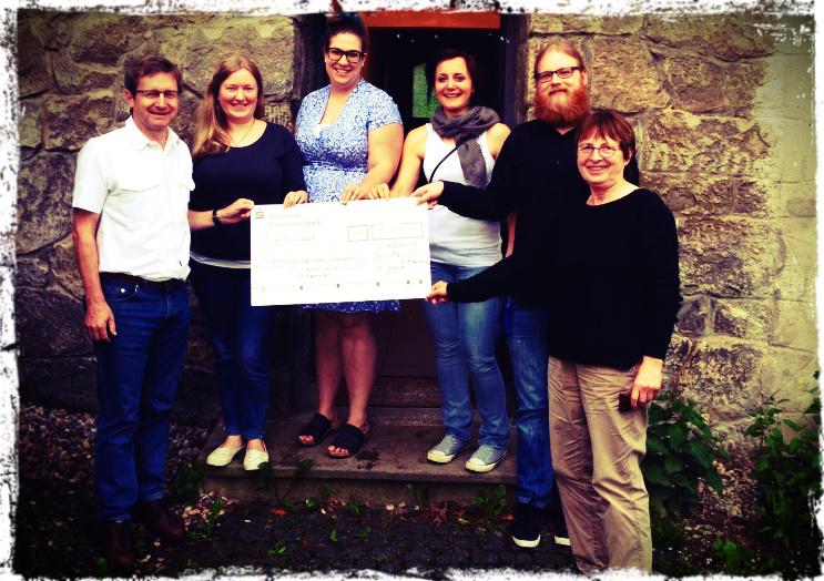 500 Euro für das neue Jugendkulturzentrum