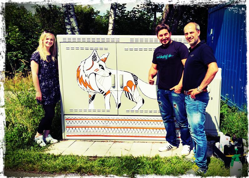 Aus Grau mach Bunt – Street Art in Viechtach