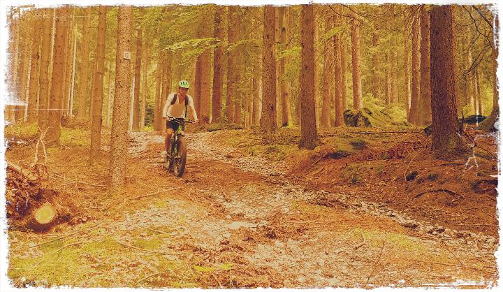 BikeBahnBus-Projekt Part I: E-Mountainbiketour mit Fahrtraining